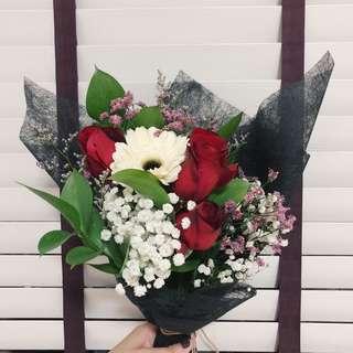 Rose bouquet |Gerbera