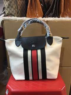 SALE LONGCHAMP RUBAN KANVAS UK 25