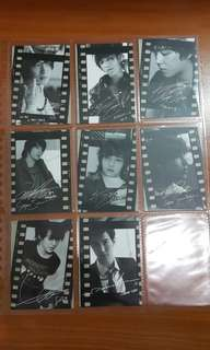 Official Star collection cards