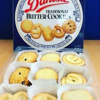 Danisa Butter Cookies original 163gr. Barang ekspor limited. Grab it fast sis n bro 😎 murah banget loh