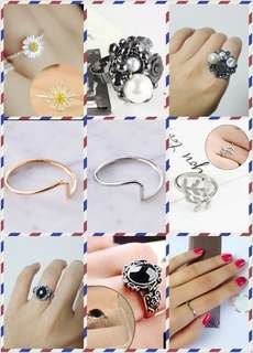 Rings Including postage