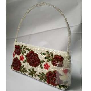 Handsewn beaded handbag