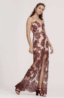Finders Keepers Lace Spectral Maxi Dress