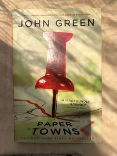 Paper Towns Novel by John Green