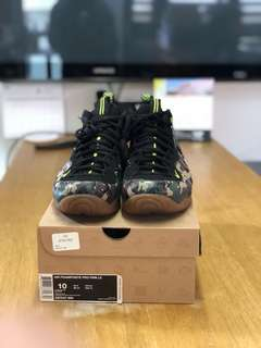 Nike Foamposite camou