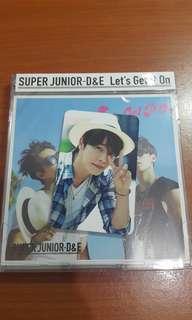 D&E let's get it on jap album w donghae pc