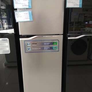 Kulkas Panasonic 2 pintu bisa kredit tanpa kartu kredit