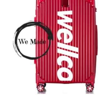 Wellco Luggage Made By Order Supreme x Rimowa 20inch 24inch 28inch