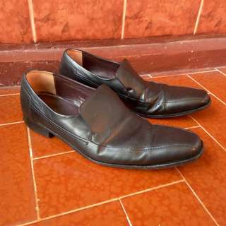 Sepatu formal hush puppies sz 43-44 not pedro bally kickers