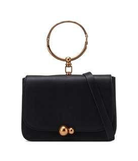 Zalora Statement Handle Flap Bag