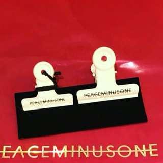 Peaceminusone bulldog clip