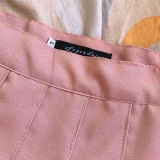 Nude Pink Tennis skirt