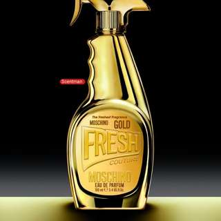 Moschino Gold Fresh Couture 100ml Edp Sealed