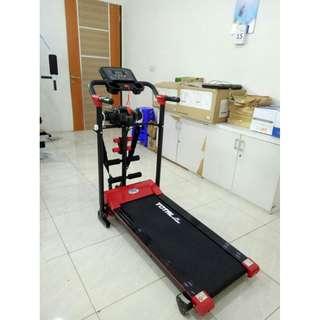 Alat Fitness Lari Treadmill ELEktrik 4 in 1 paling murah tl 605 Terlaris