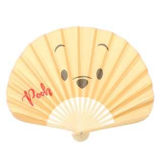 Japan Disneystore Disney Store Summer Fun 2018 Pooh Folding Fan