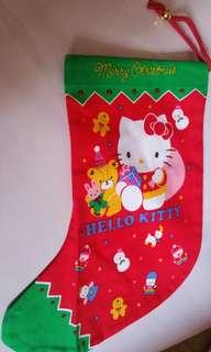 Hello kitty絕版聖誕袋(包平郵)
