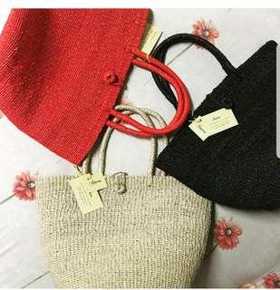 Alona abaca bag for sale!