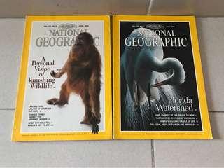 1990 National Geographic Magazines