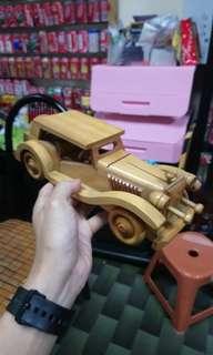 大大架古老木製車 (有20年)