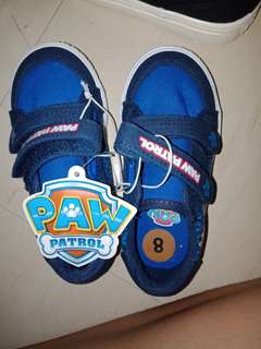 Paw patrol shoes for toddler