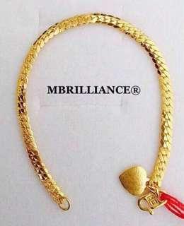 Kids cowboy bracelet  916 Yellow Gold by Mbrilliance