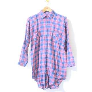 Long flanel shirt