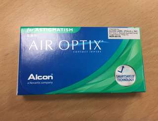 Contact Lens with Astigmatism