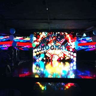 Birthday decoration for night clubs or KTV