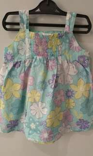 Sweet Flowery Baby Dress