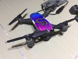 Used DJI Spark FMC with extra battery & accessories