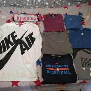 Nike Adidas 長袖T-shirts