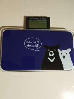 🚚 deya熊體重計