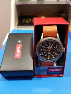 Timex watch with free straps
