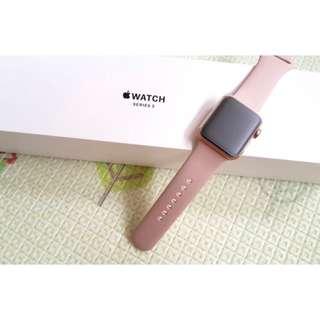 🚚 (保固內)Applewatch 38mm 玫瑰金
