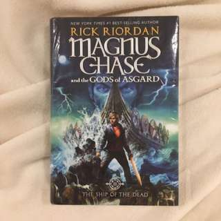 BRAND NEW Magnus Chase and the Gods of Asgard - The Ship of the Dead by Rick Riordan