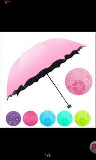 Magic UV Folding Sun/Rain Windproof Umbrella