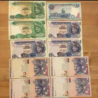 Old notes for sale! Pm 01161228040