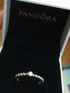 PANDORA 🈹️鑽石戒指 s925 原價$2x x x 平售$880