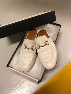 Gucci Princetown Horsebit-detailed Leather Mules