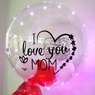 Happy mother's day balloon set