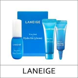 Laneige Water Bank Hydro Trial Kit 3 items