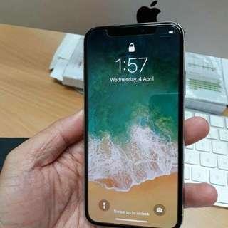 IPhone X 64GB LLset (sim free unlock version)