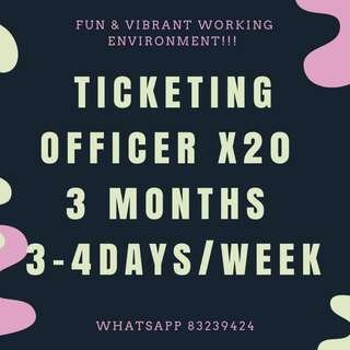 (JOB) TICKETING OFFICER || MARINA BAY || FUN WORKING ENVIRONMENT | JOIN US NOW !