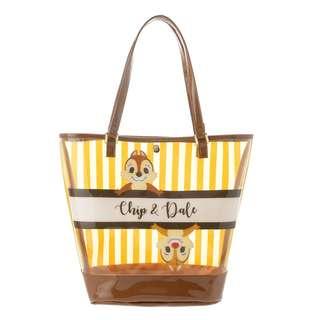 Japan Disneystore Disney Store Summer Fun 2018 Chip & Dale Clear Tote Bag