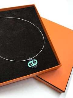 Hermes Necklace 罕有 三環 頸鍊 全新購自巴黎保正真品