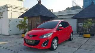 Mazda2 R 1.5 at / HB / 2011 / merah