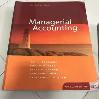Managerial Accounting 2nd Edition