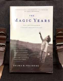 # Highly Recommended《New Book Condition + 50th Anniversary Edition + How Children Perceive And Adapt To Their World》Salma H. Fraiberg - THE MAGIC YEARS : Understanding and Handling the Problems of Early Childhood