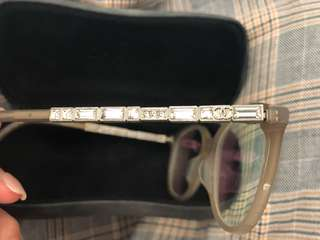 Chanel 淺棕色鏡框眼鏡