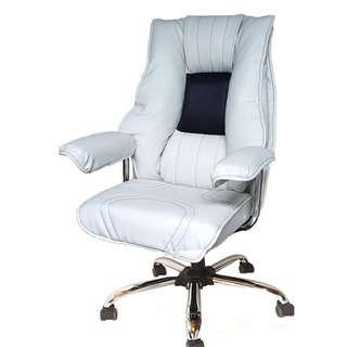 WHITE JUMBO Executive Office Chair